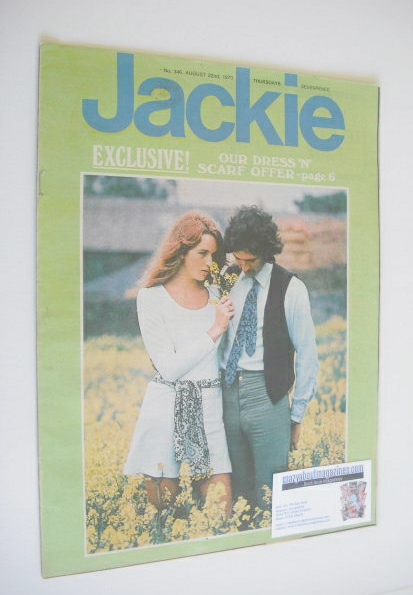 <!--1970-08-22-->Jackie magazine - 22 August 1970 (Issue 346)