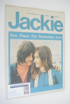 Jackie magazine - 5 September 1970 (Issue 348)