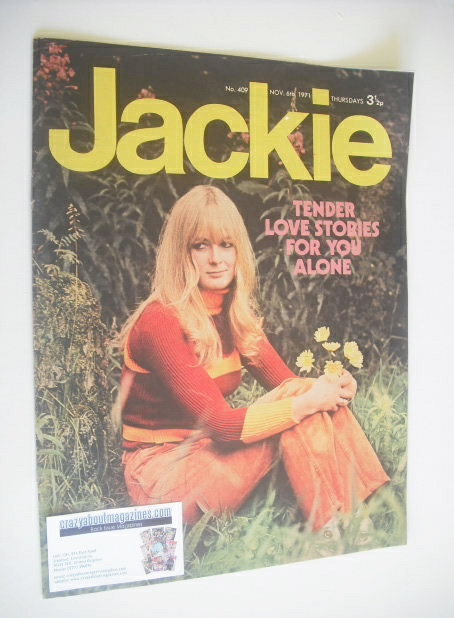 <!--1971-11-06-->Jackie magazine - 6 November 1971 (Issue 409)