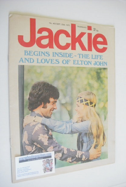 <!--1971-09-25-->Jackie magazine - 25 September 1971 (Issue 403)