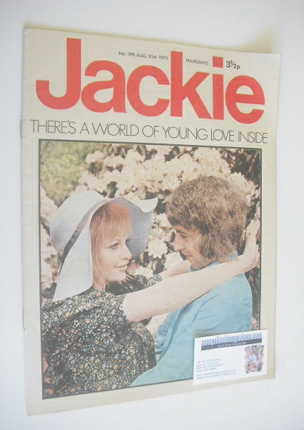 <!--1971-08-21-->Jackie magazine - 29 August 1971 (Issue 398)