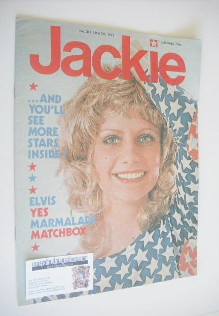 <!--1971-06-05-->Jackie magazine - 5 June 1971 (Issue 387)
