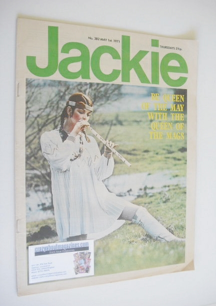 <!--1971-05-01-->Jackie magazine - 1 May 1971 (Issue 382)