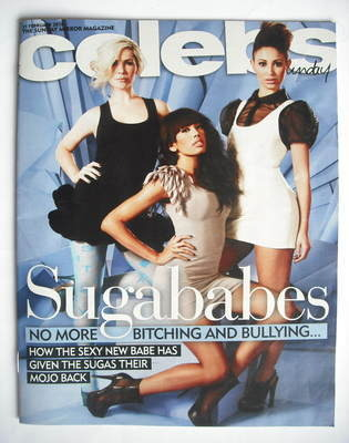 <!--2010-02-21-->Celebs magazine - Sugababes cover (21 February 2010)
