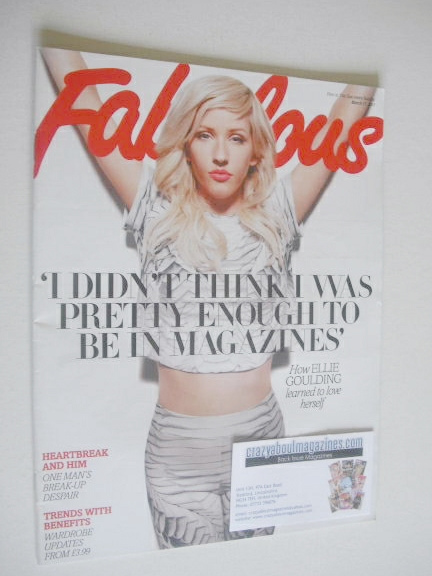 <!--2013-03-17-->Fabulous magazine - Ellie Goulding cover (17 March 2013)