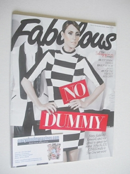 Fabulous magazine - Alex Jones cover (27 January 2013)