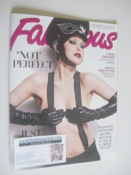Fabulous magazine - Emma Willis cover (21 January 2012)