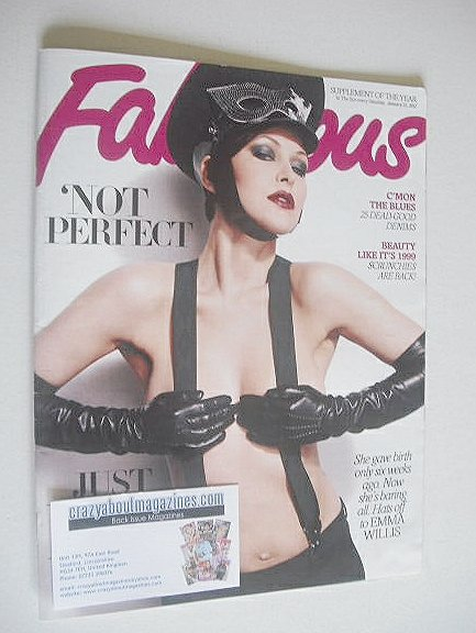 <!--2012-01-21-->Fabulous magazine - Emma Willis cover (21 January 2012)