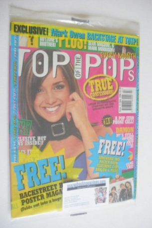 <!--1996-07-->Top Of The Pops magazine - Louise Nurding cover (July 1996)