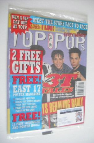 <!--1996-06-->Top Of The Pops magazine - 3T cover (June 1996)