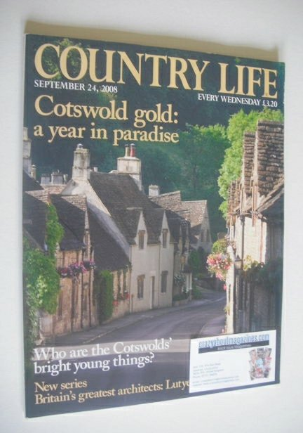 <!--2008-09-24-->Country Life magazine (24 September 2008)