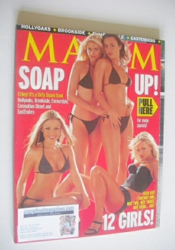 MAXIM magazine - Soap Girls cover (November 2000)