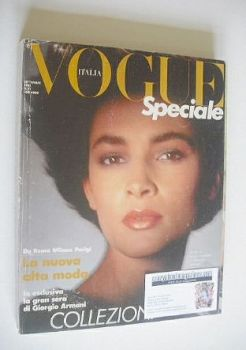 Vogue Italia Speciale magazine - September 1985
