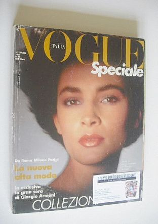 <!--1985-09-->Vogue Italia Speciale magazine - September 1985