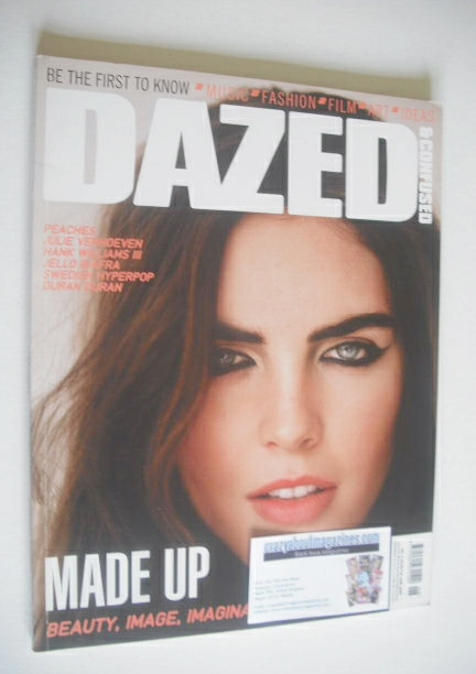 <!--2006-06-->Dazed & Confused magazine (June 2006 - Hilary Rhoda cover)