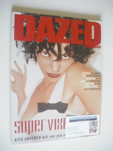 <!--2004-11-->Dazed & Confused magazine (November 2004 - Asia Argento cover