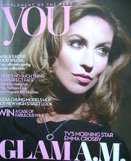 <!--2009-03-29-->You magazine - Emma Crosby cover (29 March 2009)