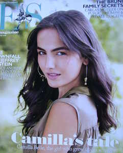 Evening Standard magazine - Camilla Belle cover (18 July 2008)