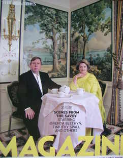 <!--2007-10-20-->The Times magazine - Timothy Spall and Brenda Blethyn cove