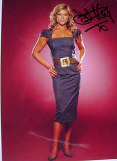 Claire King autograph (hand-signed photograph)