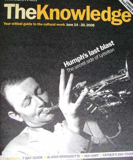The Knowledge magazine - 14-20 June 2008 - Humphrey Lyttelton cover