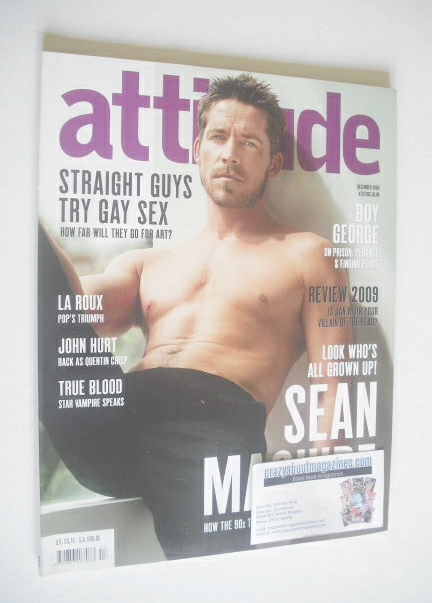 <!--2009-12-->Attitude magazine - Sean Maguire cover (December 2009)