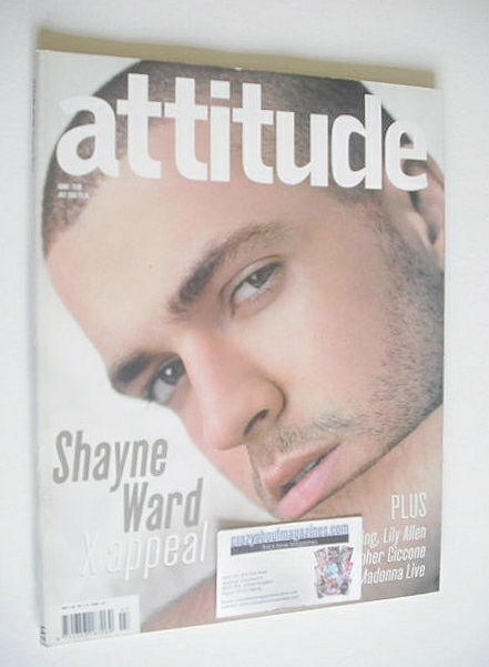 <!--2006-07-->Attitude magazine - Shayne Ward cover (July 2006)