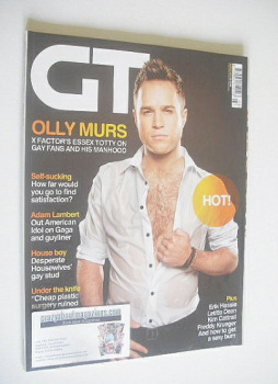 Gay Times magazine - Olly Murs cover (March 2010)