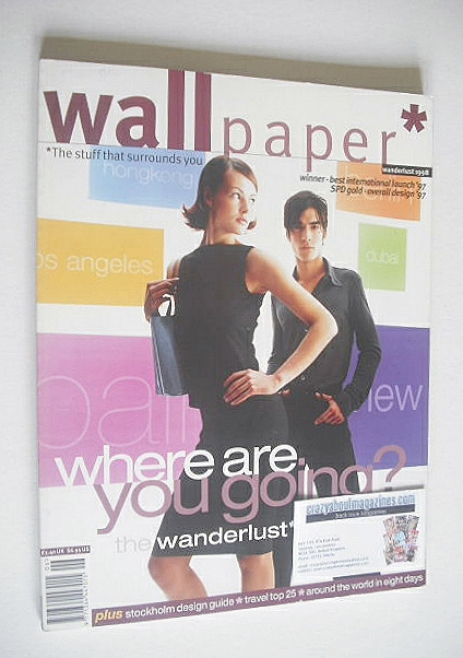 <!--1998-06-->Wallpaper magazine (Issue 11 - Wanderlust 1998)