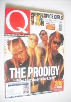 Q magazine - The Prodigy cover (December 1997)