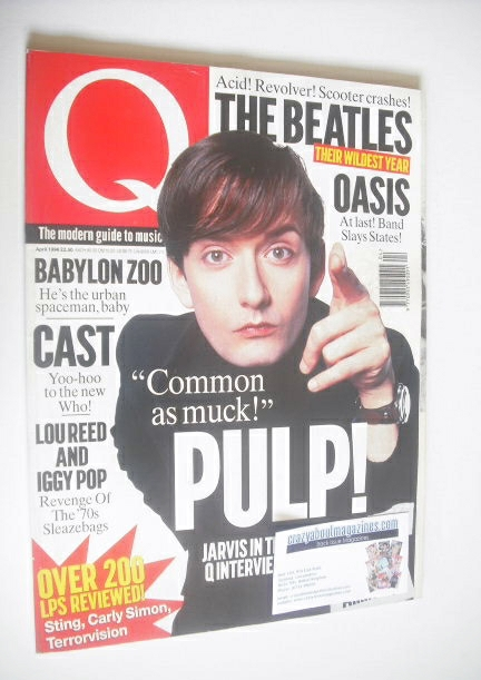 <!--1996-04-->Q magazine - Jarvis Cocker cover (April 1996)