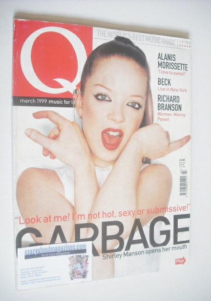 <!--1999-03-->Q magazine - Shirley Manson cover (March 1999)