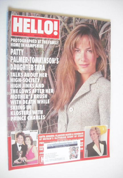 <!--1995-05-06-->Hello! magazine - Tara Palmer-Tomkinson cover (6 May 1995