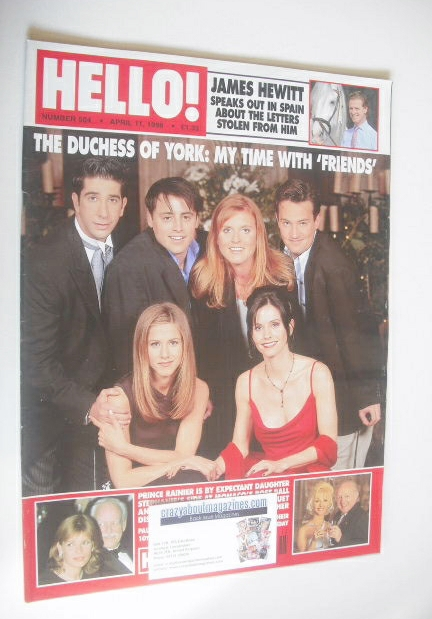 <!--1998-04-11-->Hello! magazine - The Duchess of York and Friends cover (1
