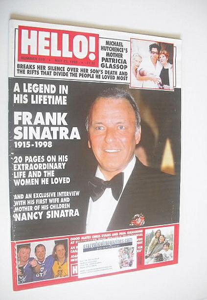 <!--1998-05-23-->Hello! magazine - Frank Sinatra cover (23 May 1998 - Issue