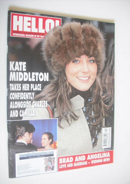 <!--2006-03-28-->Hello! magazine - Kate Middleton cover (28 March 2006 - Is