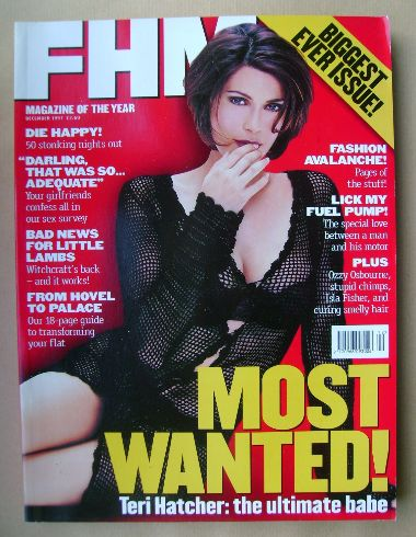 <!--1997-12-->FHM magazine - Teri Hatcher cover (December 1997)