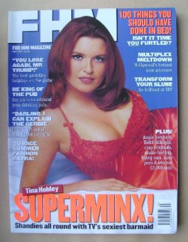 FHM magazine - Tina Hobley cover (May 1997)