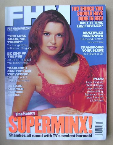 <!--1997-05-->FHM magazine - Tina Hobley cover (May 1997)