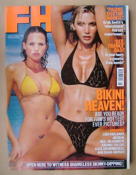 <!--2000-08-->FHM magazine - August 2000