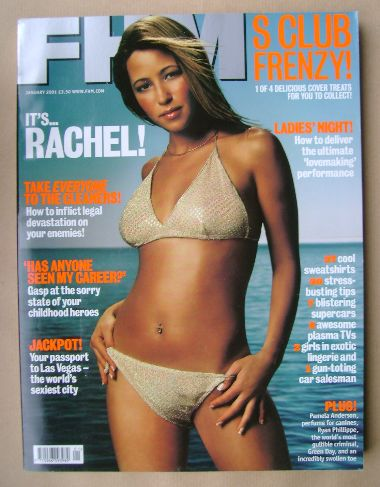<!--2001-01-->FHM magazine - Rachel Stevens cover (January 2001)