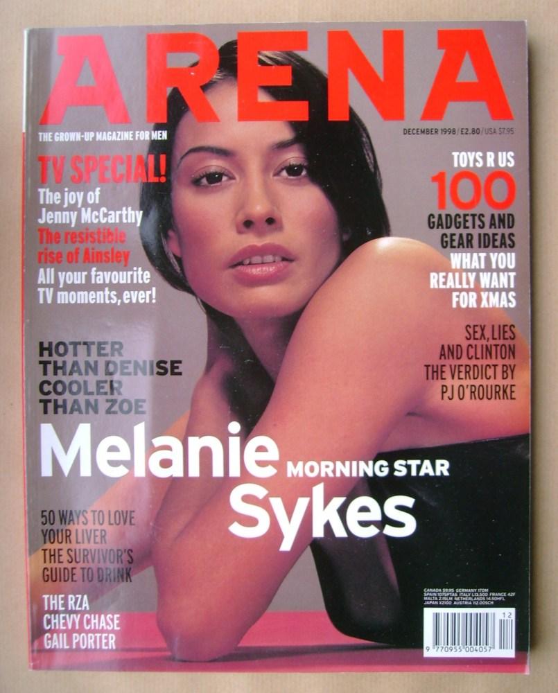 <!--1998-12-->Arena magazine - December 1998 - Melanie Sykes cover