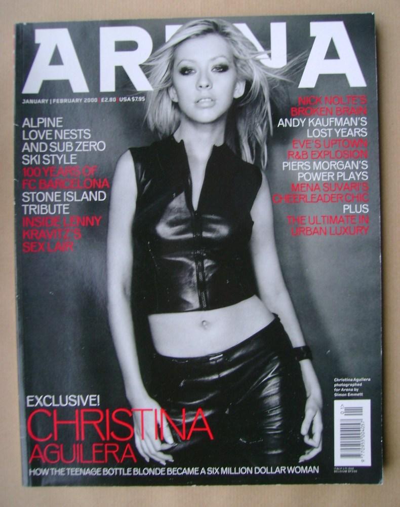 <!--2000-01-->Arena magazine - January/February 2000 - Christina Aguilera c