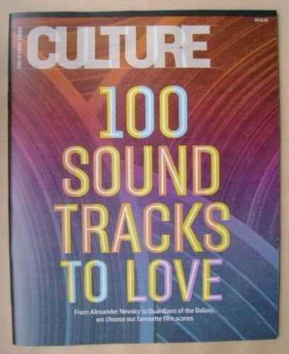 <!--2014-11-09-->Culture magazine - 9 November 2014