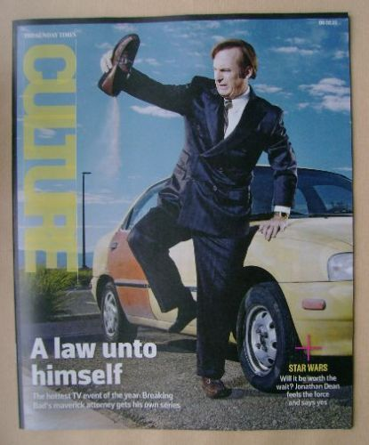 <!--2015-02-08-->Culture magazine - Bob Odenkirk cover (8 February 2015)