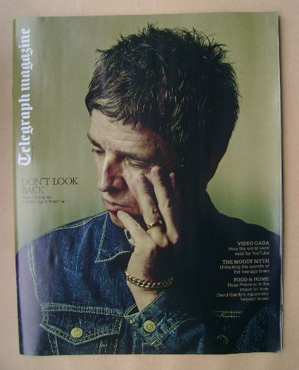<!--2015-02-14-->Telegraph magazine - Noel Gallagher cover (14 February 201