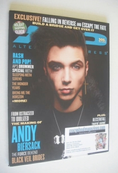 Alternative Press magazine - December 2013 - Andy Biersack cover (Cover 1)