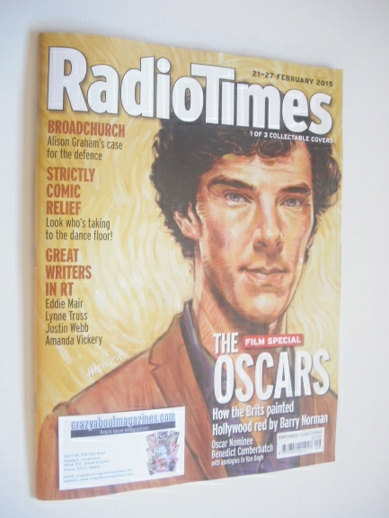 <!--2015-02-21-->Radio Times magazine - Benedict Cumberbatch (in the style