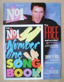 No 1 Magazine - Simon Le Bon cover (14 September 1985)