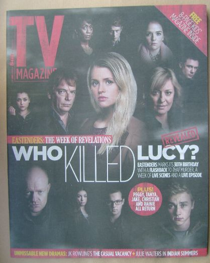 <!--2015-02-14-->The Sun TV magazine - 14 February 2015 - Who Killed Lucy?